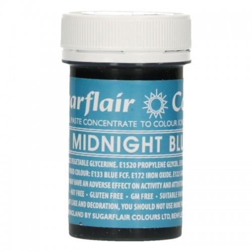 Sugarflair paste colour - Midnight blue 25g