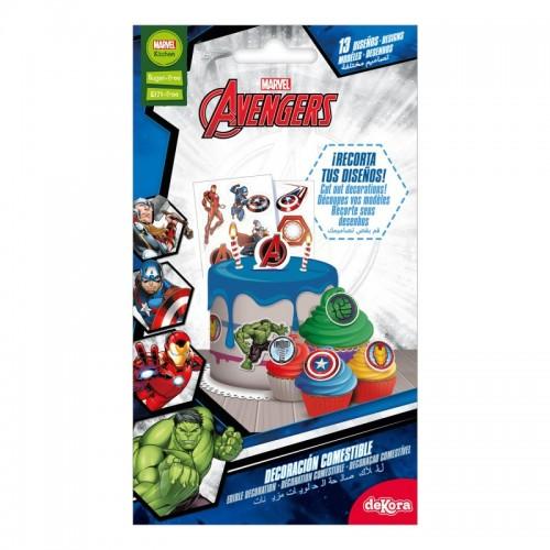 DeKora cukrové pláty - Avengers - 13 obrázků