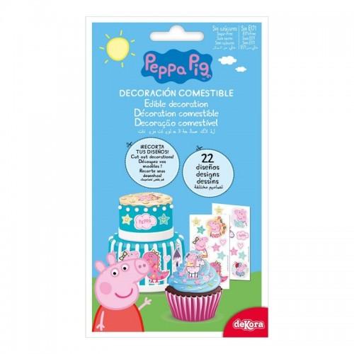 DeKora cukrové pláty - Peppa Pig - 22 obrázků