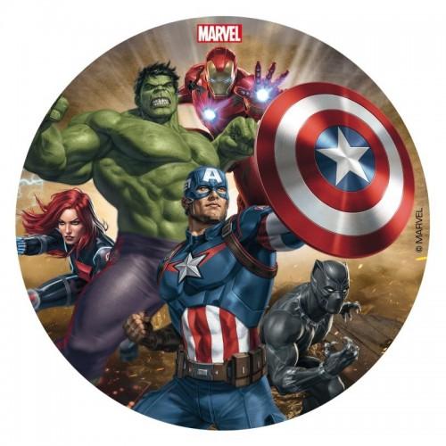 Dekora - fondánový list - Avengers 16cm