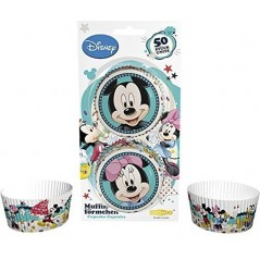 DecoCino Baking Cups - Mickey + Minnie - 50 Stück