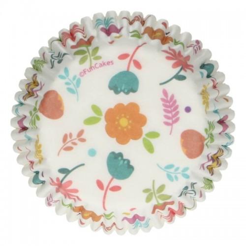 FunCakes  Baking Cups - floral - 48 Stück