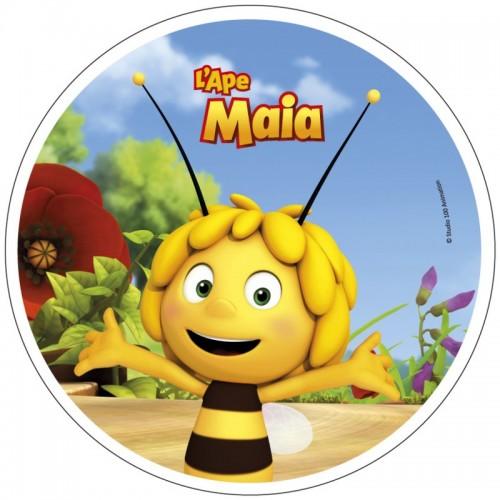 Wafer Sheet  Round - Die Biene Maja