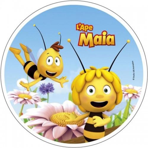Wafer Sheet  Round - Die Biene Maja und Willi