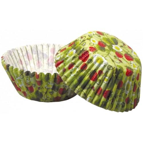 Cukrárske košíčky - jahody 50ks