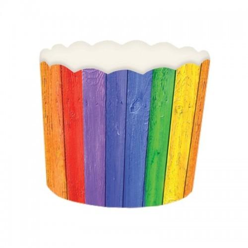 Košíček na muffin pevný - karneval - 24ks