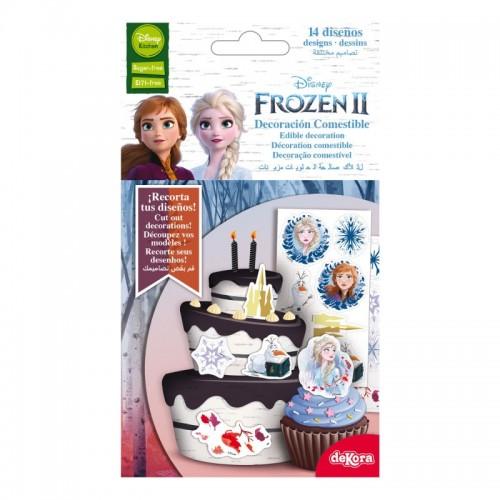 DeKora Sugar Plates - Frozen II.- 14 Bilder