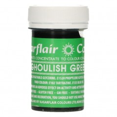 Sugarflair paste colour - Ghoulish green  25g