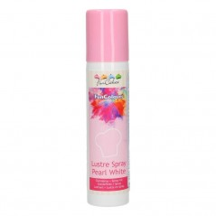 FunCakes metallic spray - pearl white - 100g