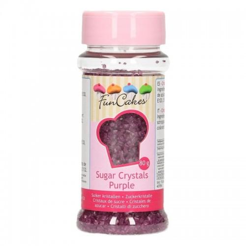 FunCakes Colored Sugar Lilla - 80g