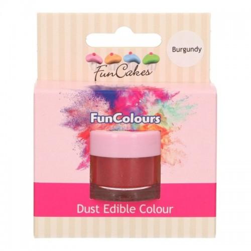 FunColours prachová barva - burgundy  - 1,5g