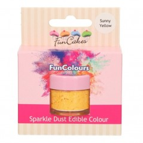 FunColours prachová perleťová barva - Sunny Yellow 1,5g