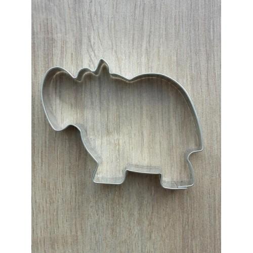 Edelstahl-Ausstecher - Nilpferd
