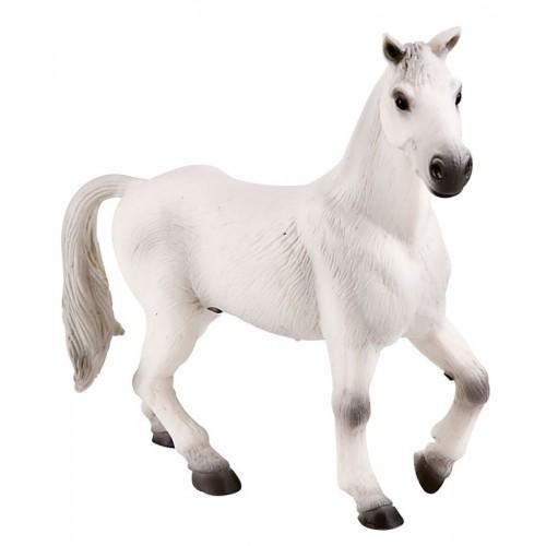 Dekorační figurka - Oldenburský valach bílý