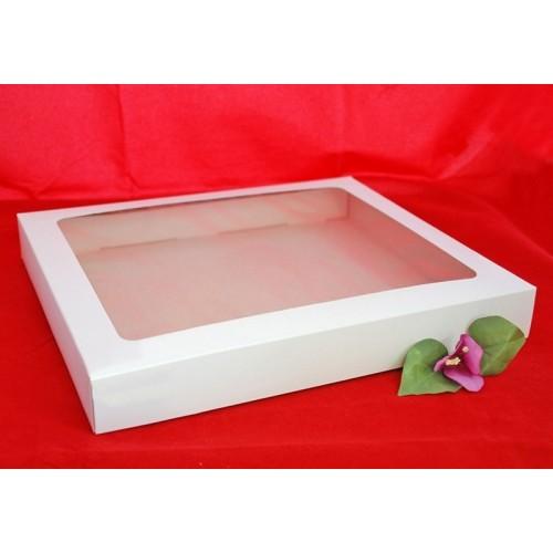 Krabice na cukroví - bílá - 1kg