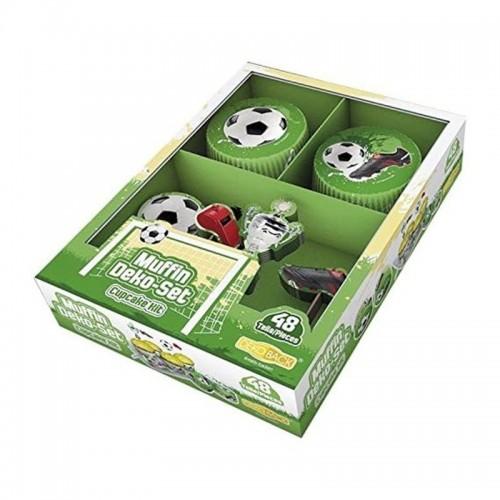 DecoCino - Baking Cups - Cup  Fußball 24 + 24stück