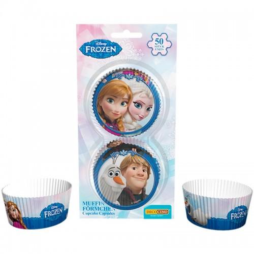 DecoCino Baking Cups - Frozen - 50 Stück