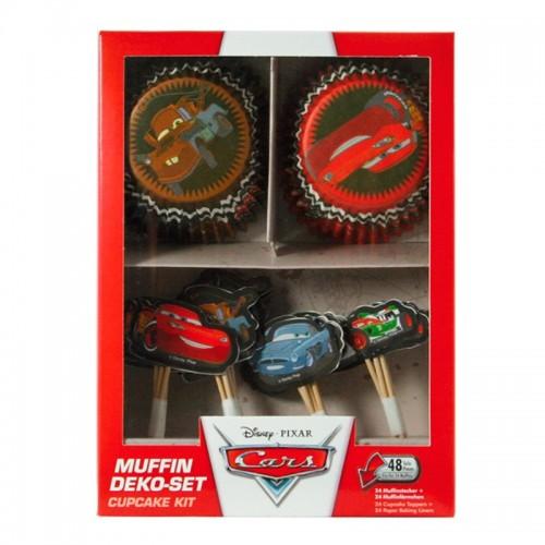 DecoCino - Baking Cups - Cup  Cars 24 + 24stück