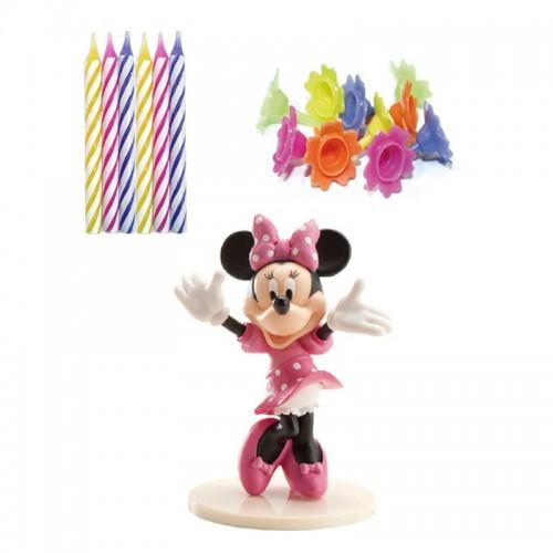 Dekora dekorační sada - Minnie + 10 svíček