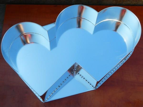 Dortová forma - Dvojité srdce