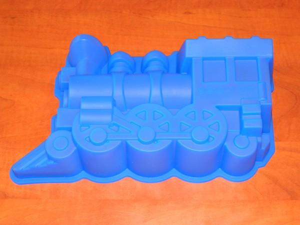 Silikonová forma - lokomotiva
