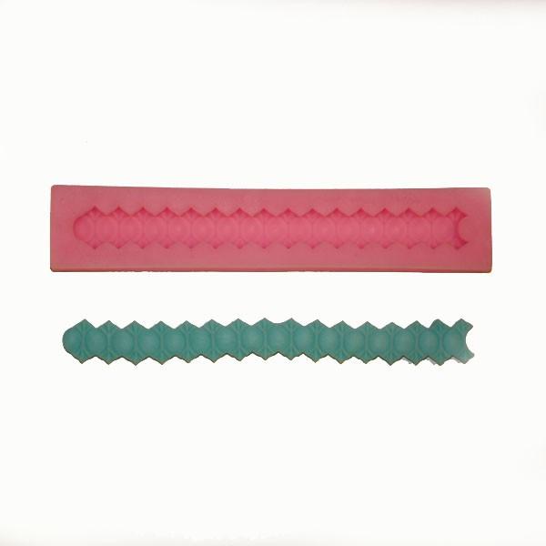 Silikonová forma - bordura - 17cm