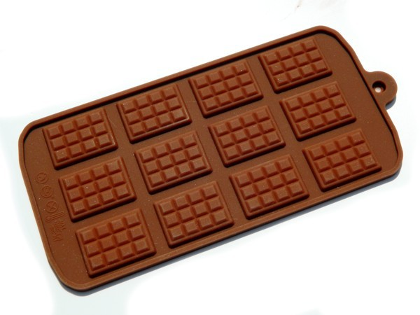 Silikonová forma - tabulka čokolády