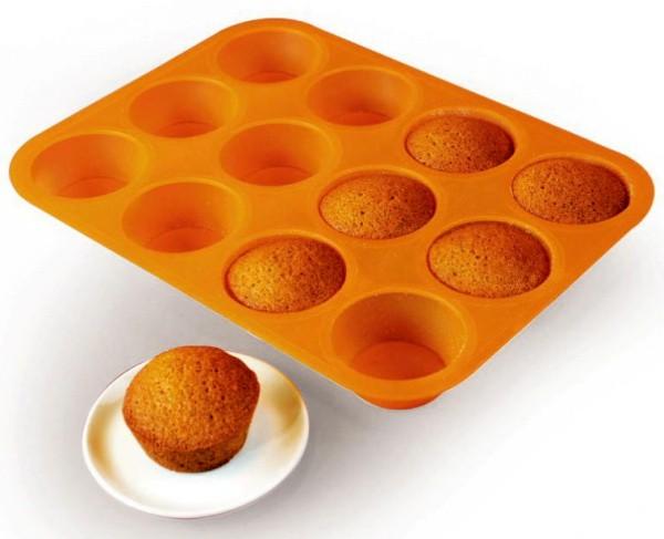 Silikonová forma - muffins / Cupcakes 12
